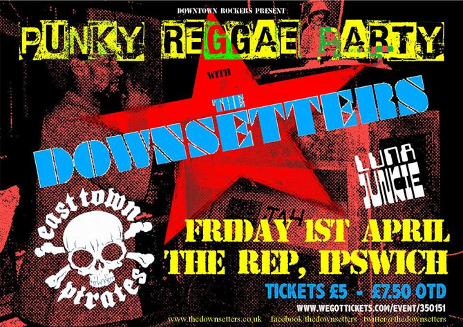 TICKETS FOR PUNKY REGGAE PARTY ON SALE NOW!