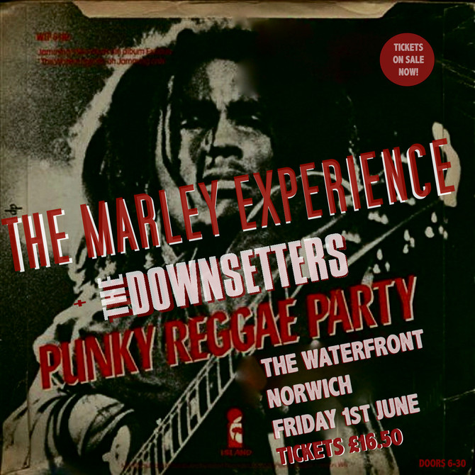 Punky Reggae Party with The Marley Experience