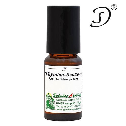 Tymián - Benzoe - prírodný roll-on parfum 10ml