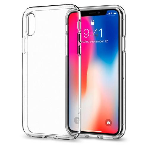 new styles f1033 58371 Spigen Liquid Crystal iPhone X Case