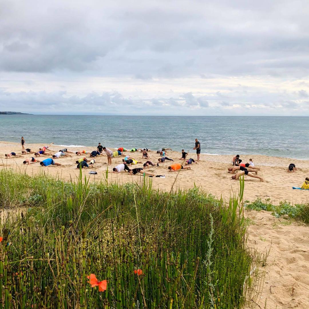 Beach Workout 2020