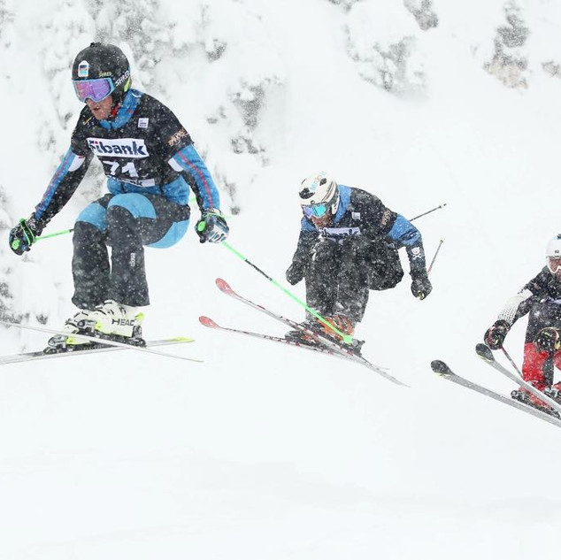 Ski Cross competition
