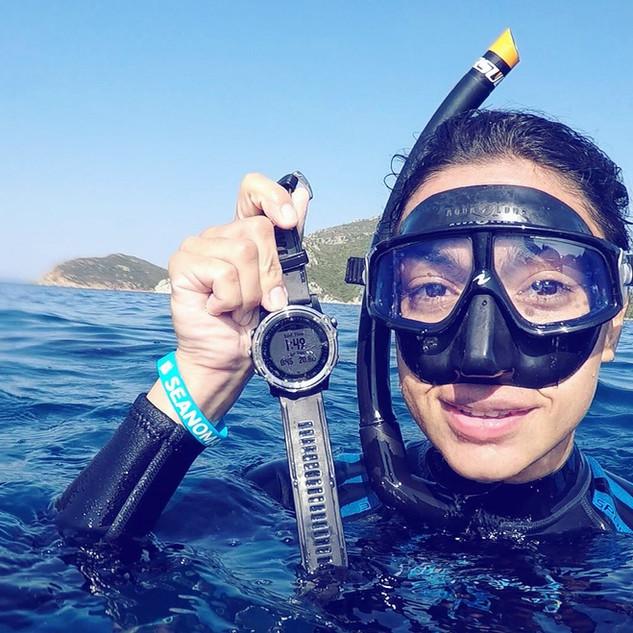 Freediving AIDA ** 20.8 m
