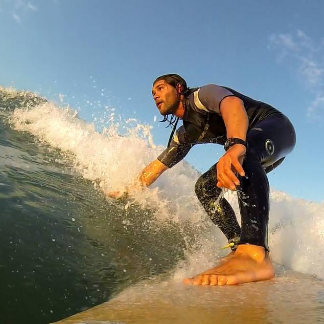surfing Ivan