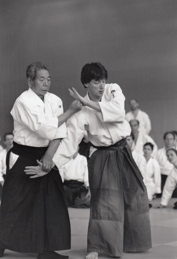 99-5 Fiesch Saito Seminar Dojo Sensei &