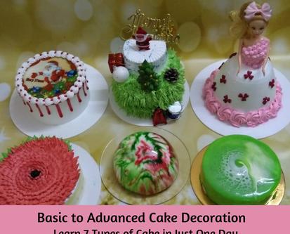 Basic to Advanced Cake Decoration