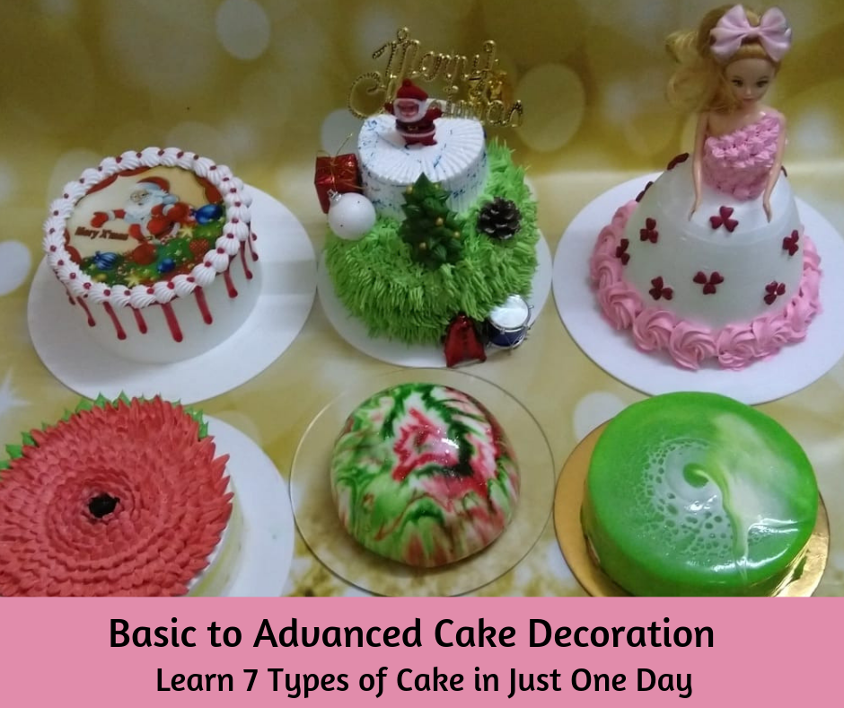 Basic to Advanced Cake Decoration