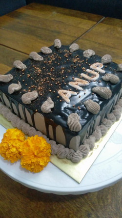 Chocolate Whipped Cream Cake