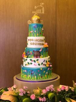 5 Tier Birthday Cake