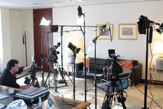 Interview set-up