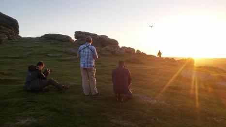 Sunset shots on Dartmoor