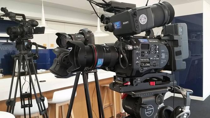 Three camera shoot