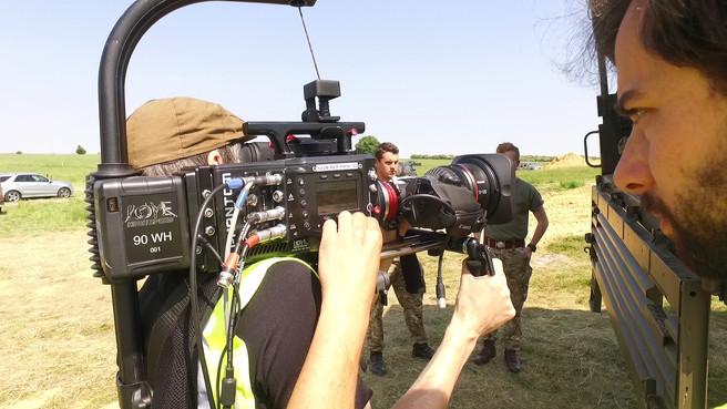 Preparing Phantom Flex for filming