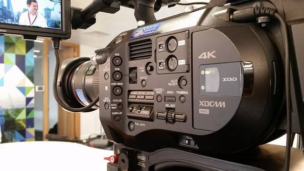 Sony FS7 filming in 4k