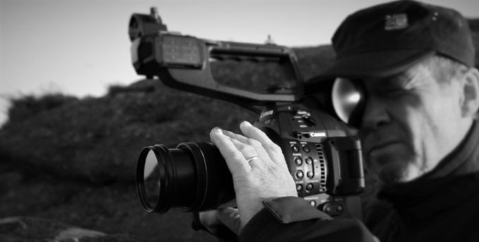 Yours Truely with my fav Canon C100