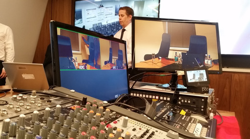 Live multicam mix