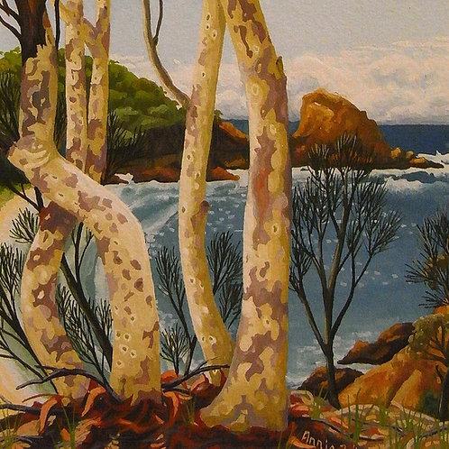 Annie Franklin - giclee print - Autumn day, Moon Bay