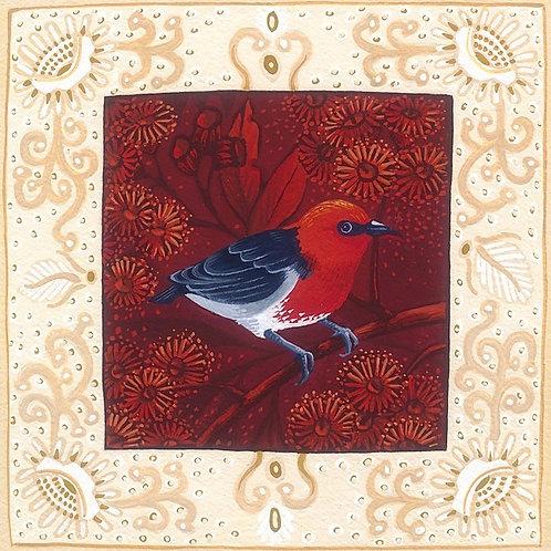 Annie Franklin - giclee print - Scarlet Honeyeater