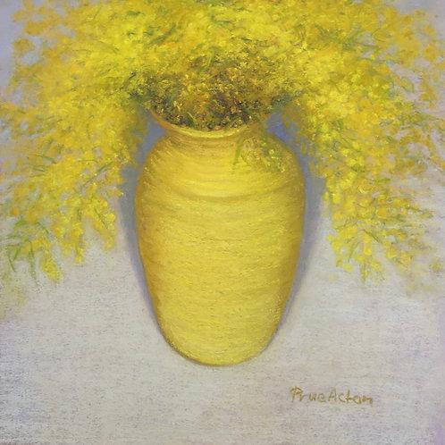 No.30 Prue Acton - Wattle #4 Yellow, Vase