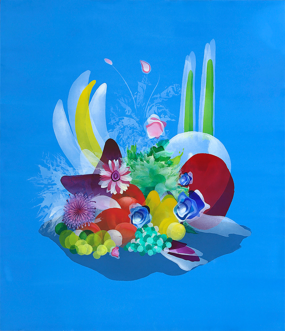 12. Bodegón, 130 x 150 cm, 2020