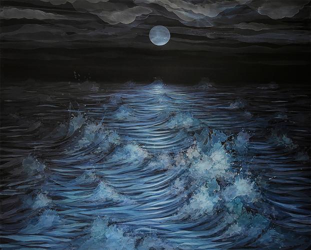 3. Lua Cheia, 140 x 120 cm, 2019