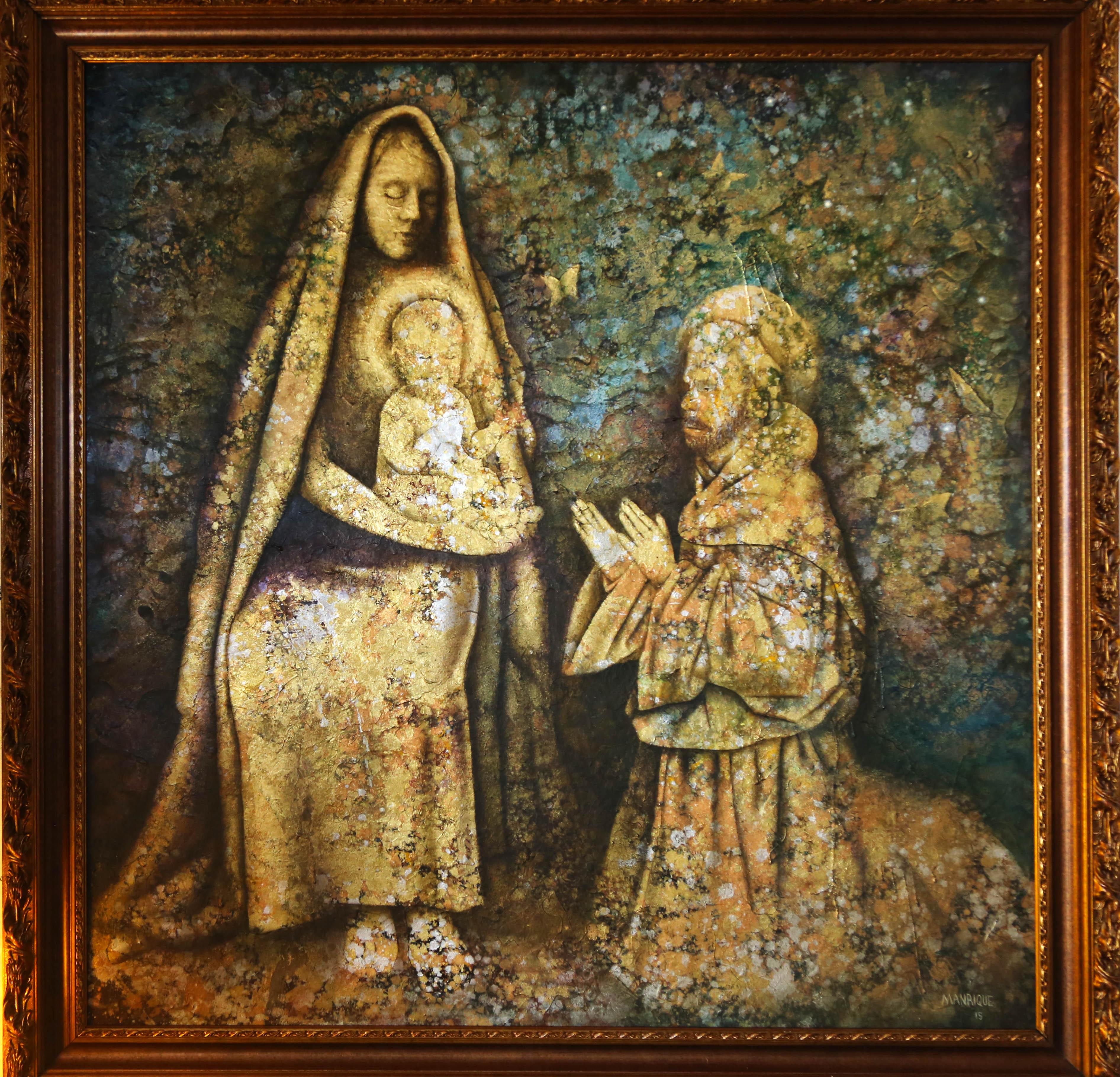 Jesus, Maria e Francisco