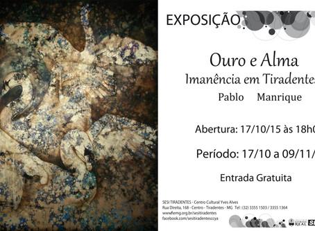 Exposição individual em Tiradentes, Brasil