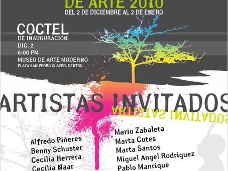 Colectiva en Museo de Arte Moderno Cartagena de Indias