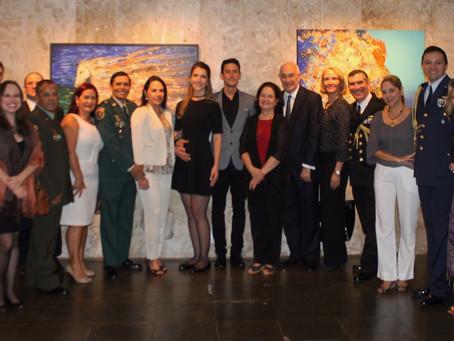 Exposición 'Imanência' se exhibe en la Embajada de Colombia en Brasil