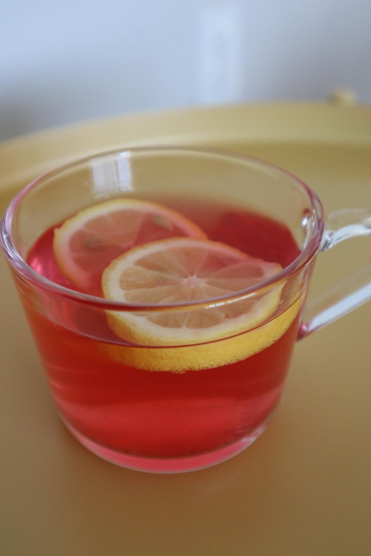 Cold brewed herbal tea