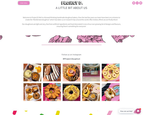 Project D Website