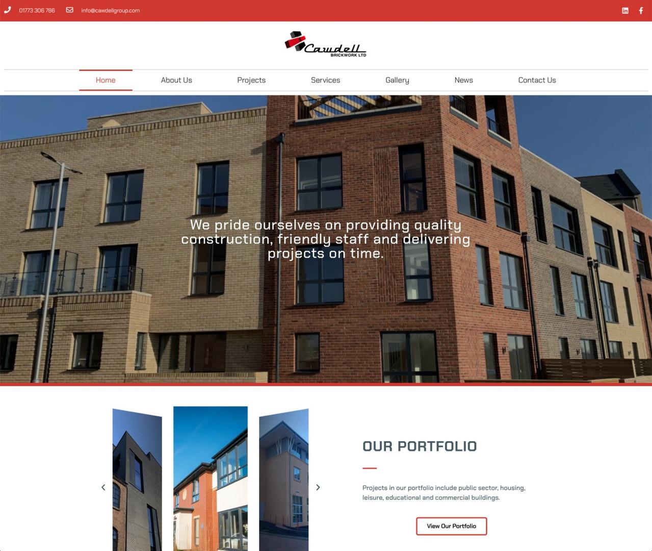 Cawdell  Brickwork Website