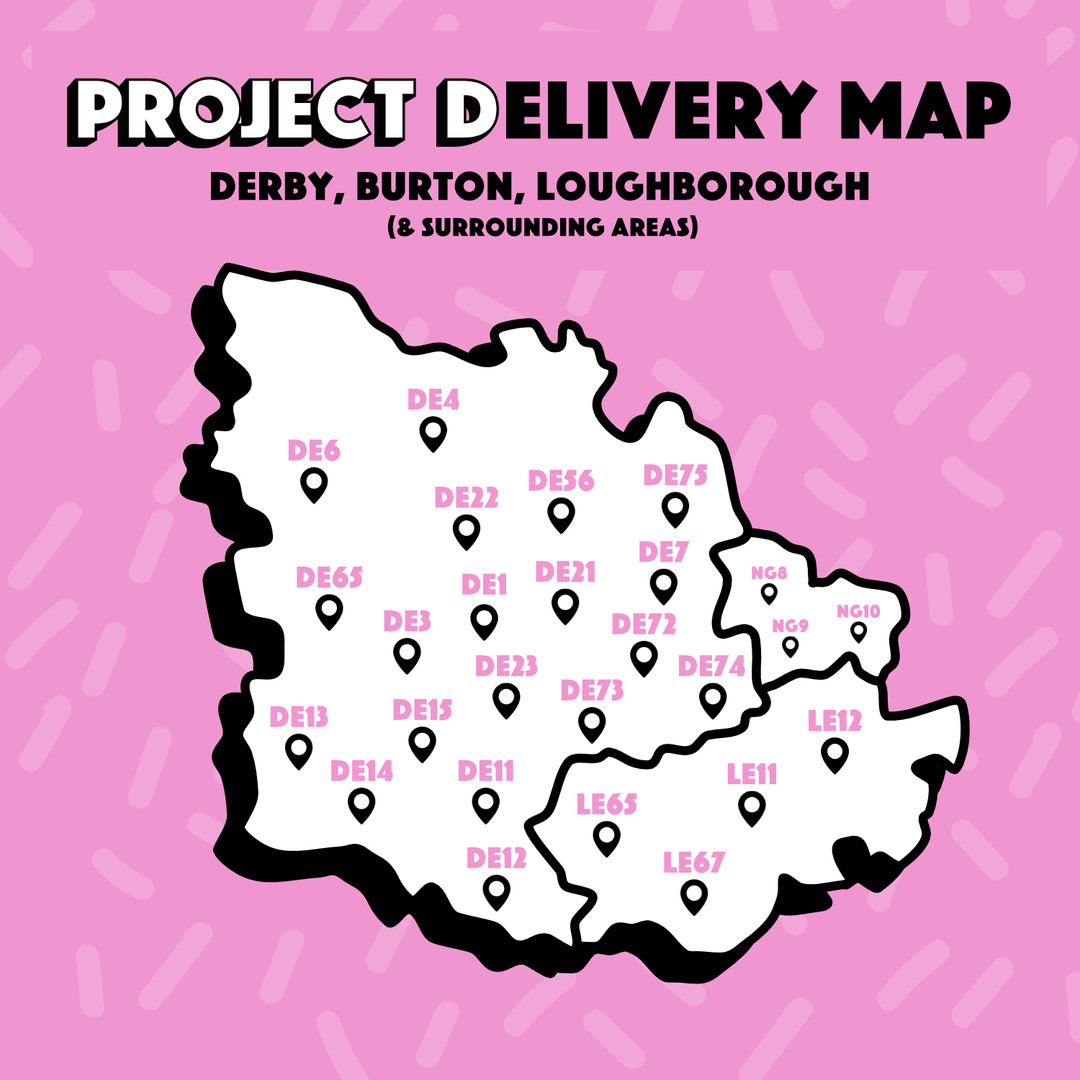 Derby-Delivery Map