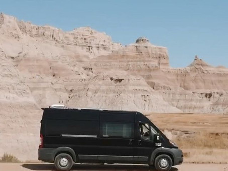 Dianna and James' State of the Art 2015 Ram ProMaster Van Conversion with Ingenious Home Cinema