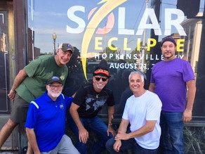 The Shul Boys Ride to the Total Eclipse of the Sun
