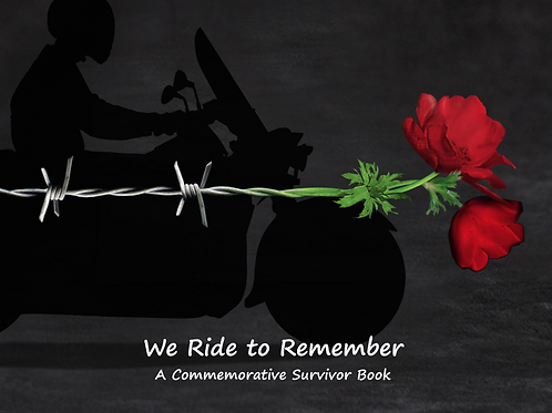 2018 Ride 2 Remember Commemorative Book