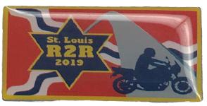 2019 St. Louis R2R Pin
