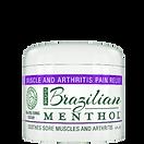 Brazilian Menthol Cream 4 oz. Jar