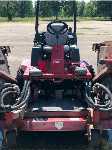 Toro GroundsMaster 4100 Diesel 4x4 Field Mower