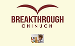 Breakthrough Chinuch cover