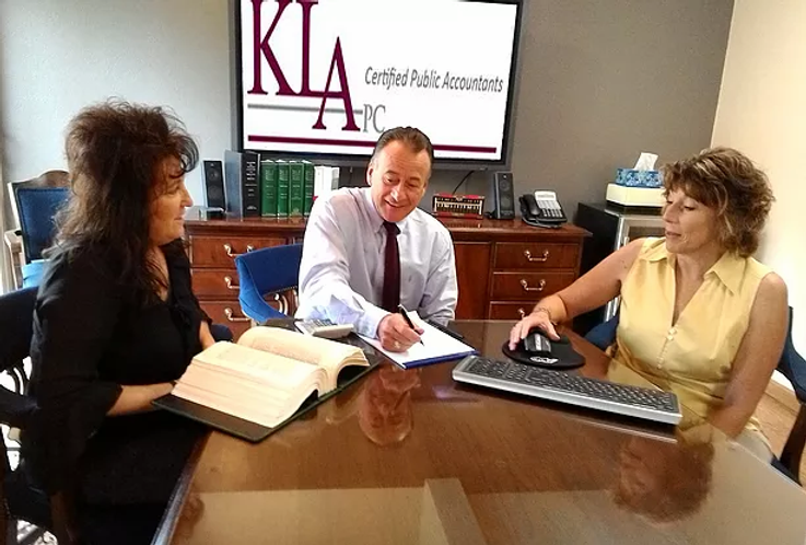 KLA CPAs Accountants working