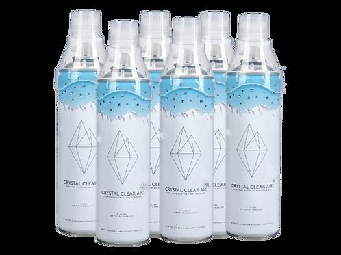 Crystal Clear Air - 6 Pack