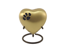 Classic Paw Heart - Brown