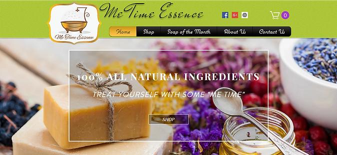 Me Time Too Website