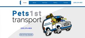 Pets 1st Transport