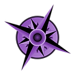 Compass-Rose purple w shadow.png