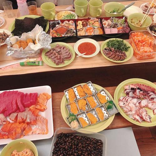 Sushi at Blue Mountain Resort