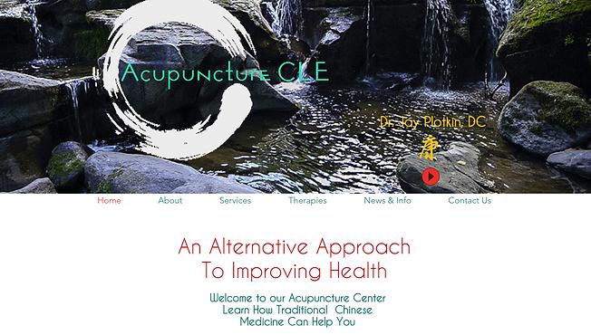 AcupunctureCLE Website