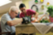 Memory Support:  Specialized care and training for those living with cognitive impairments.  Nursing staff available 24/7 to meet the healthcare needs in addition to providing activities and opportunities for stimulation.
