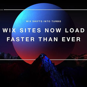 Wix Speeds Up Websites with Wix Turbo